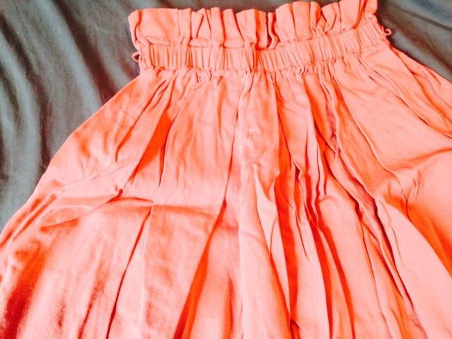 Urban Outfitters Skirt Tan Pink Sand