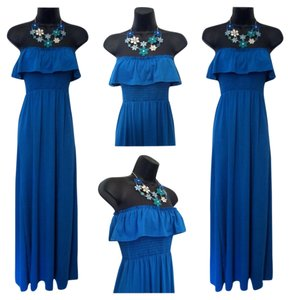 Blue Maxi Dress by 0 Degrees