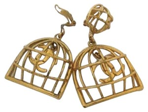 Chanel Chanel Birdcage Earrings 165529 CJJY6