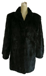 German Furrier Ranched Mink Jacket Fur Coat