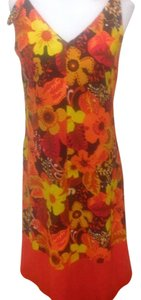 Orange Multi Maxi Dress by