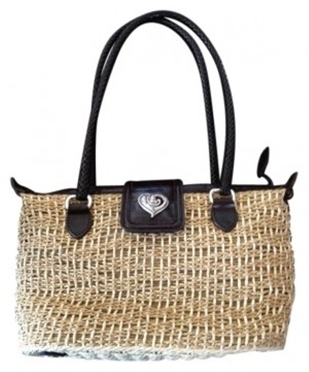 Preload https://item1.tradesy.com/images/brighton-woven-jute-and-leather-shoulder-bag-32700-0-0.jpg?width=440&height=440