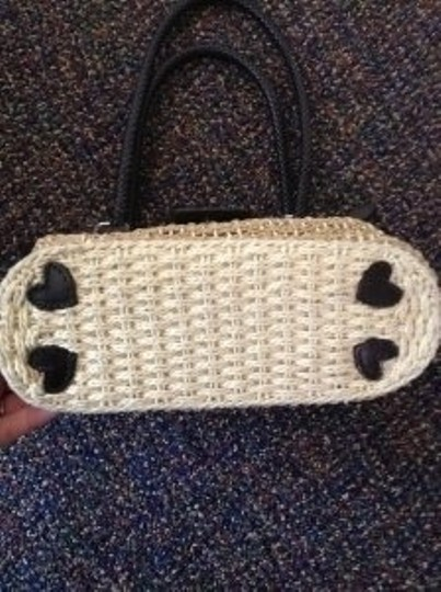 Brighton Woven Jute Shoulder Bag