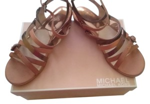 Michael by Michael Kors luggage/ cocoa Flats
