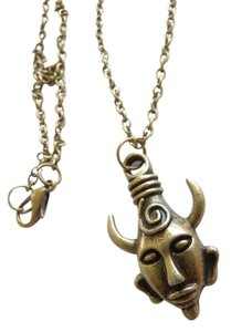 Antique Bronze Halloween Supernatural Dean's Demon Protection Amulet Charm Pendant Necklace