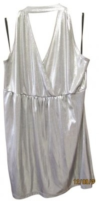 Other Silver Halter Top