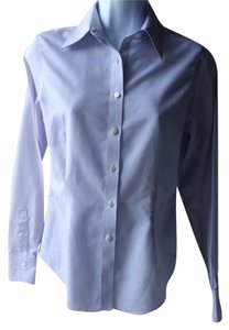 Brooks Brothers Button Down No Iron Cotton Button Down Shirt Lilac