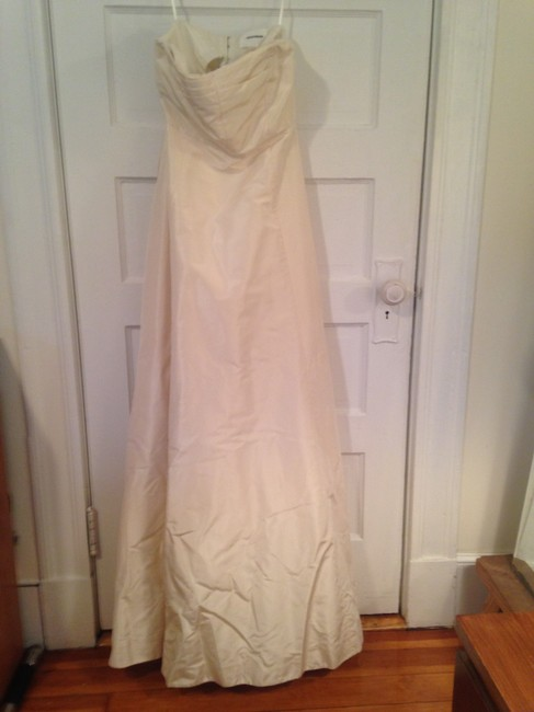 Item - Ivory Silk Sabine Modest Wedding Dress Size 0 (XS)