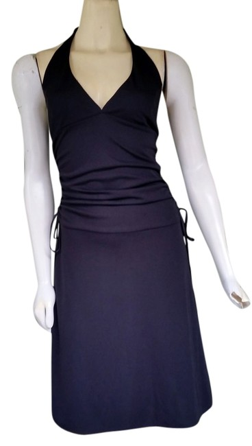 Preload https://item3.tradesy.com/images/abs-by-allen-schwartz-black-ruched-halter-small-knee-length-night-out-dress-size-petite-4-s-3271072-0-0.jpg?width=400&height=650