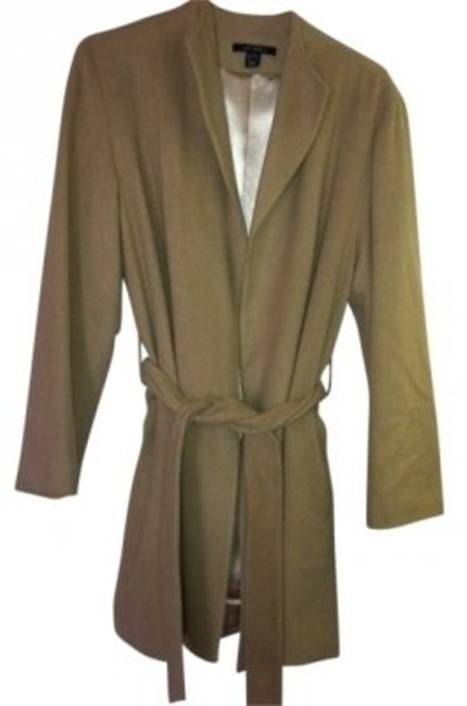 Preload https://item1.tradesy.com/images/louben-camel-wool-with-wrap-around-belt-size-8-m-32715-0-0.jpg?width=400&height=650