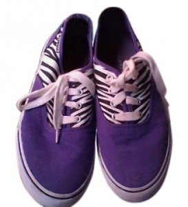 Airwalk Zebra Skate purple, white, black (zebra) Athletic