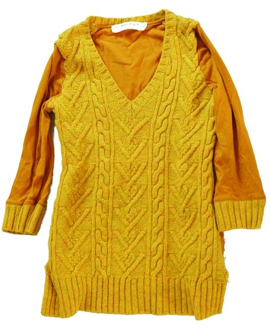 Preload https://item2.tradesy.com/images/anthropologie-mustard-cable-knit-sweater-3272986-0-0.jpg?width=400&height=650