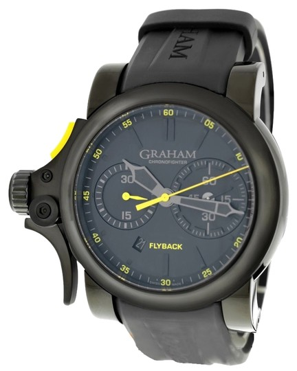Graham & Spencer Graham Chronofighter Trigger Flyback 2TRAB.B11A Automatic PVD Date