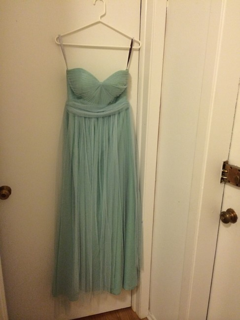 Item - Mint Tulle Annabelle Formal Bridesmaid/Mob Dress Size 2 (XS)