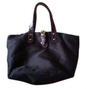 Rubi Medium Size Roomy Tote in black, brown