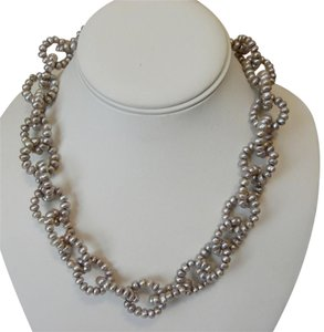 Honora Honora 18 Inch Interlocking Pearl Necklace 18