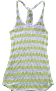 Chloe K Neon Top Striped
