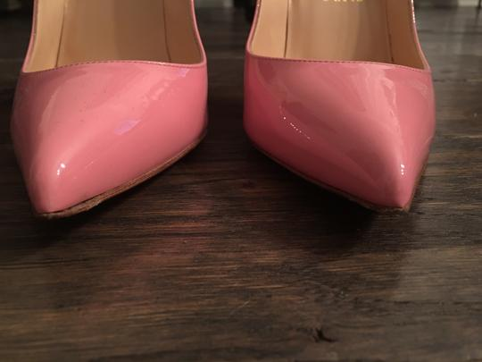 Christian Louboutin Patent Leather Pink Pumps