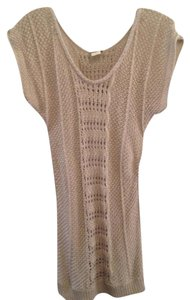 Daytrip Metallic Tunic Sweater