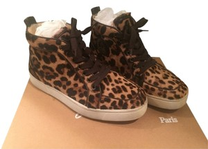 Christian Louboutin Sneakers Calfhair Flat Leopard Athletic