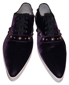 Marc Jacobs Dark Purple Flats