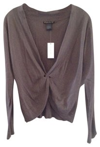 Gold Hawk Silk Cashmere Taupe Sweater