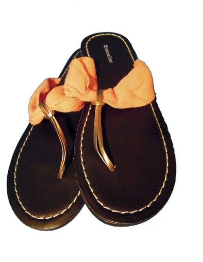 Naturalizer peach and brown Flats