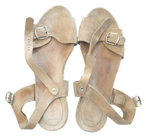 Chloé Strap Summer Beige Sandals
