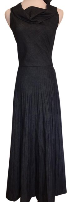 Preload https://item4.tradesy.com/images/junya-watanabe-comme-des-garcons-denim-pleated-maxi-long-workoffice-dress-size-0-xs-3276943-0-2.jpg?width=400&height=650