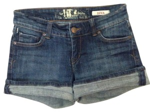 !iT Jeans Wash Denim Shorts-Dark Rinse