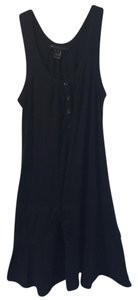 Marc by Marc Jacobs short dress Black Sleeveless Bow Buttons Fashion Style on Tradesy