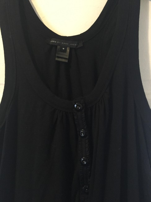 Marc by Marc Jacobs short dress Black Sleeveless Sundress Bow Buttons Fashion Style on Tradesy