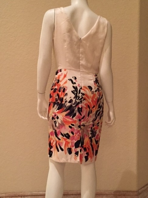 Clues Collection short dress Floral Floral Print Multi-color on Tradesy