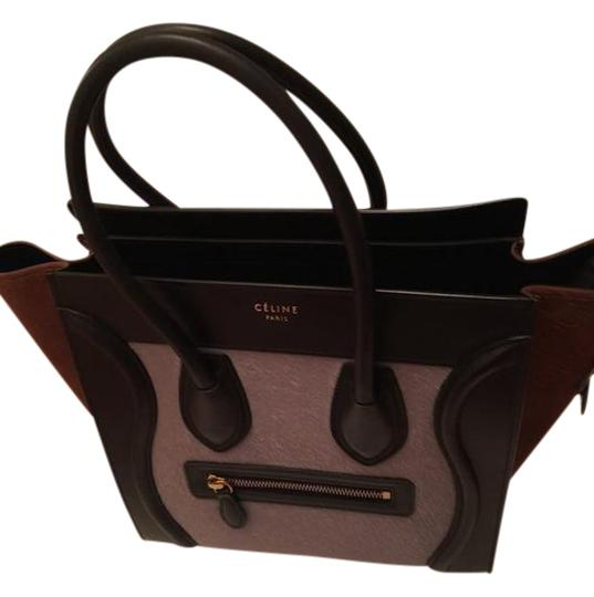 Preload https://item3.tradesy.com/images/celine-luggage-micro-lilacblackbrown-pony-hair-leather-tote-3278317-0-4.jpg?width=440&height=440