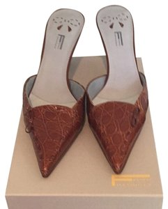 Franco Fieramosca Brown Mules