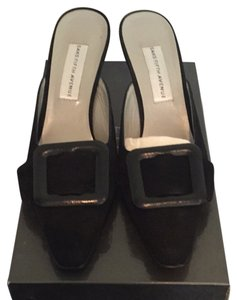 Saks Fifth Avenue Black Mules