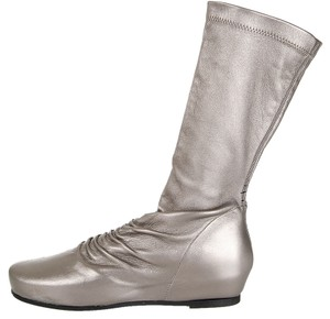 Rick Owens METALLIC SILVER Boots