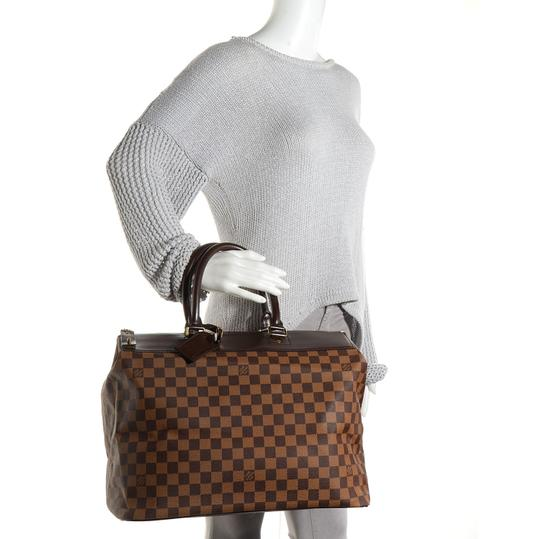 Preload https://item1.tradesy.com/images/louis-vuitton-greenwich-pm-with-lock-key-and-luggage-name-brown-damier-ebene-weekendtravel-bag-3280150-0-7.jpg?width=440&height=440