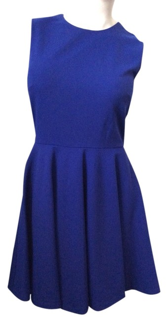 Preload https://img-static.tradesy.com/item/3280393/diane-von-furstenberg-blue-jeannie-short-workoffice-dress-size-4-s-0-0-650-650.jpg