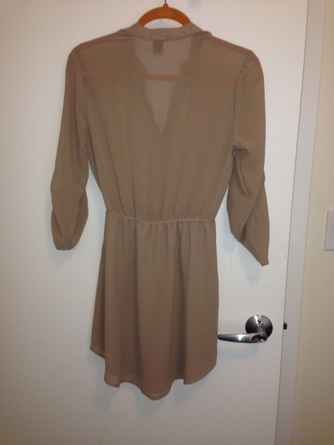 Rue 21 short dress Beige/Tan on Tradesy