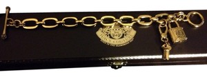 Juicy Couture Juicy Couture Lock N Key Link Bracelet