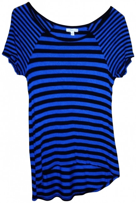 StyleMint T Shirt Black/blue