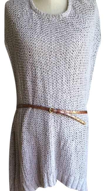 Anthropologie short dress oatmeal Tunic on Tradesy