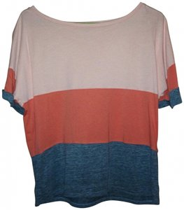 StyleMint T Shirt Peach/orange/grey