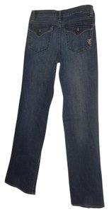 Jessica Simpson Blue Leg Pants Size 28 Size S Boot Cut Jeans-Medium Wash