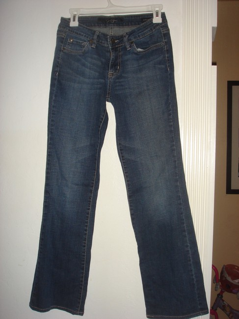 Jessica Simpson Sunset Leg Pants Bottom Size 28 Size S Boot Cut Jeans-Medium Wash