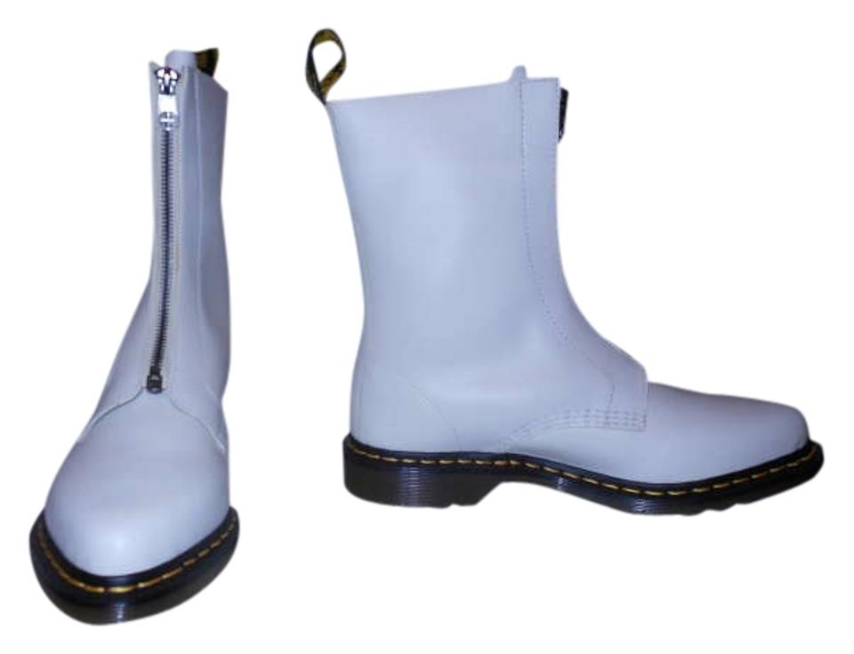 Ladies Dr. Reliable Martens Ivory Zena Boots/Booties Reliable Dr. reputation becb63
