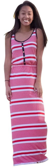 RED/WHITE Maxi Dress by Tommy Hilfiger