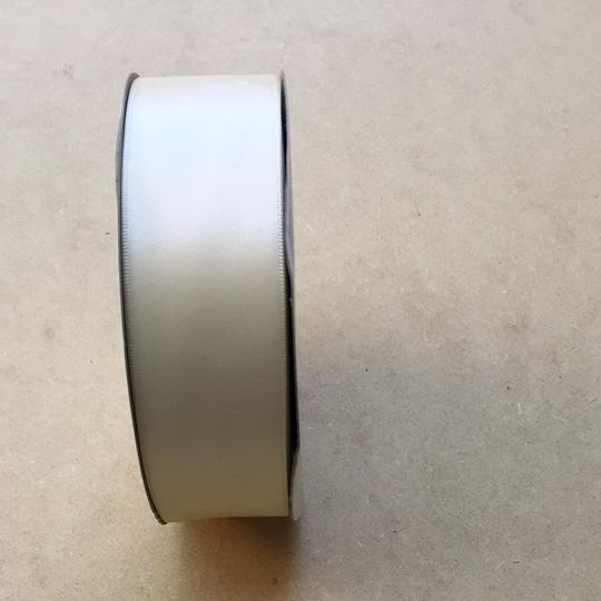 Ivory Satin Ribbon 1.5 Inch Wide - 50 Yards Long - Double Faced Satin Ribbon - Perfect For Sash Other