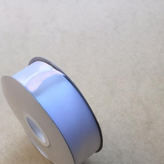 White 1.5 Inch Wide Satin Ribbon - Double Faced - 50 Yd. Satin Ribbon